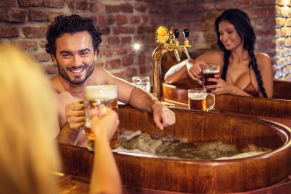 beer spa à Prague EVG