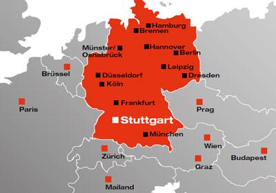EVG à Stuttgart