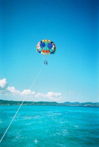 Parachute ascensionnel - EVJF à Montpellier