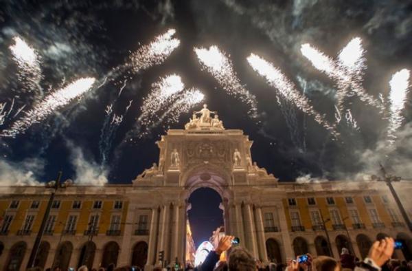 EVG à Lisbonne - Nouvel an 2018