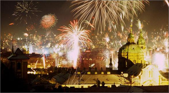 EVG à Prague - Nouvel an 2018