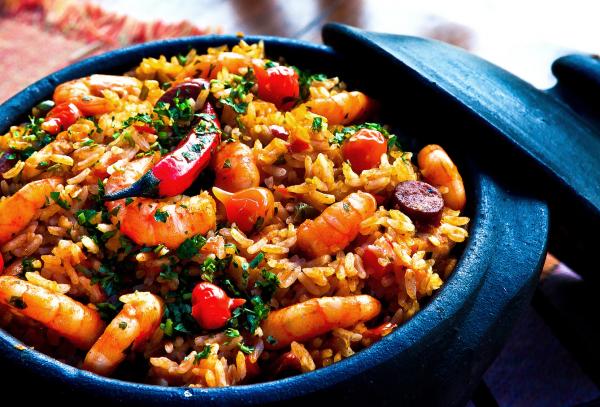 Repas typique EVJF à Séville
