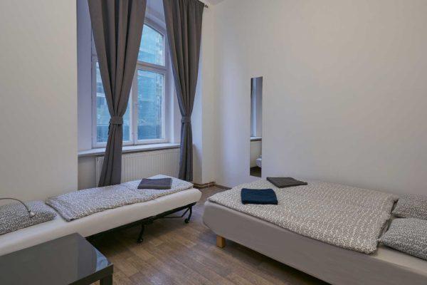 Appartement d'EVG à Prague