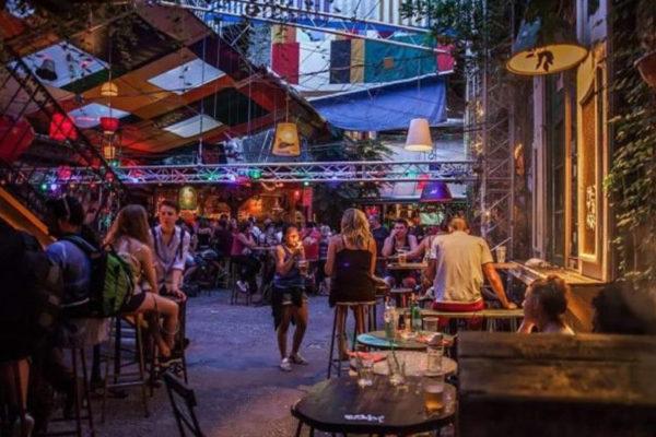 Boite Traian Budapest - Szimpla Kert